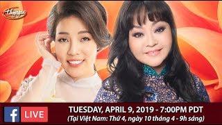 Livestream với Hương Lan & Châu Ngọc Hà - April 9, 2019