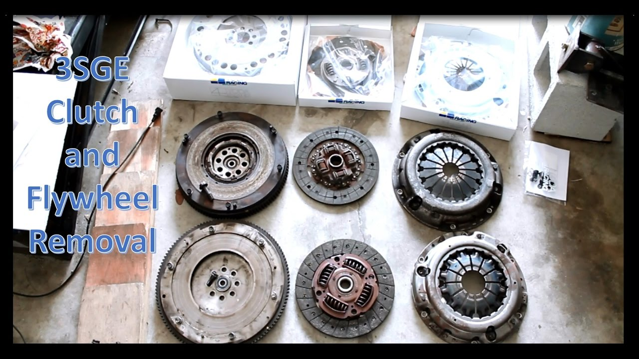 sge beams swapped frs engine rebuild day  clutch  flywheel removal youtube