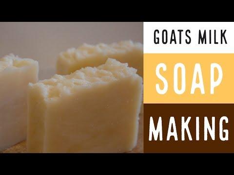 Goats Milk Soap Making / Goat's Milk & Shea Butter Shampoo Bar Soap
