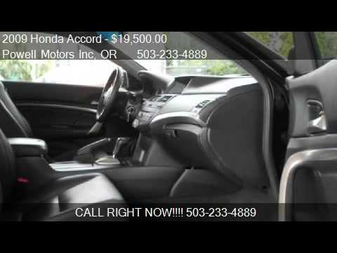 2009 Honda Accord EX-L V6 2dr Coupe for sale in Portland, OR