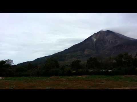 Medan Trip - Sinabung Volcano Panorama