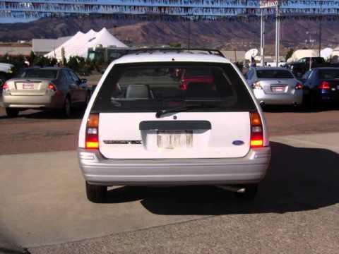 12166b 1992 ford escort wagon for sale youtube. Black Bedroom Furniture Sets. Home Design Ideas