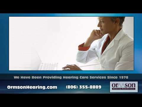 Hearing Aids Amarillo TX - Ormson Hearing Health Care