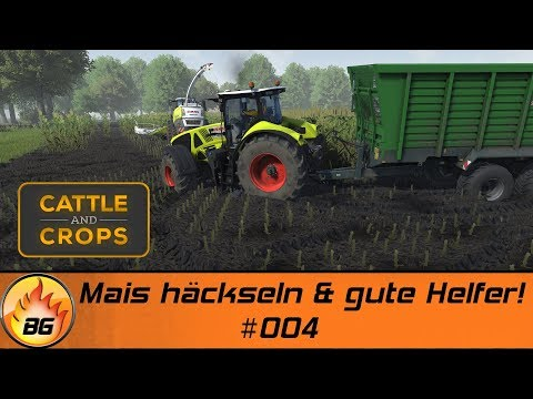 Cattle and Crops #004 | Maishäckseln & gute Helfer! | Let's Play [HD]