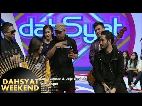 Jeje Govinda & Syahnaz Lucu Di Kasih Pertanyaan [Dahsyat] [14 Mar 2016]