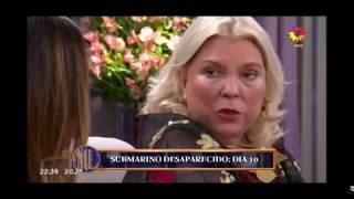 "Video: Carrio aseguró que los tripulantes del Ara San Juan ""Están fallecidos"""