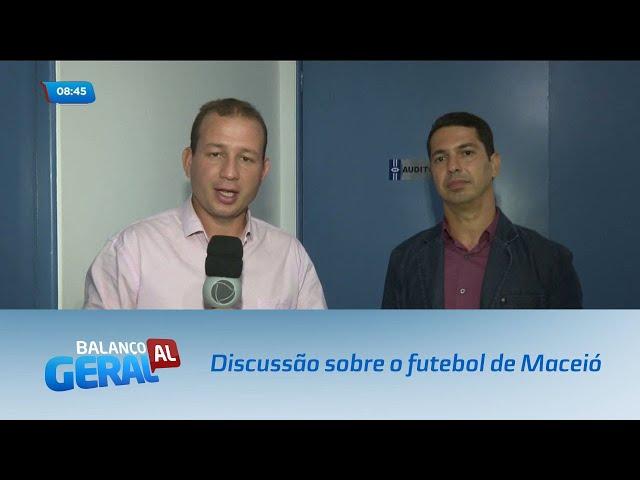 Estudantes de Administração da Ufal promoveram discussão sobre o futebol de Maceió
