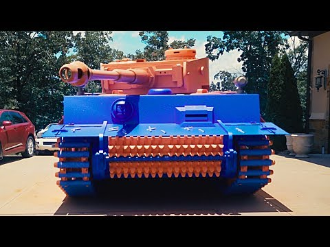 Thumbnail: WE FOUND A NERF TANK