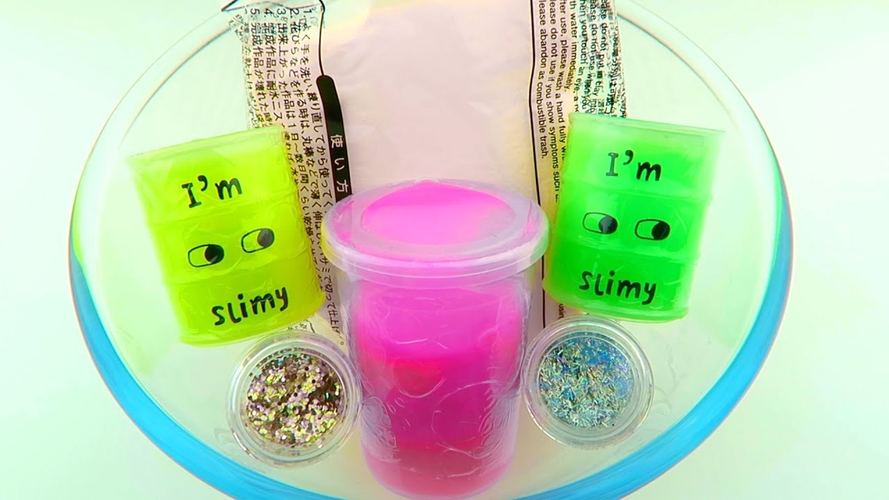 Mixing Store Bought Slime and Clay Experiment! Will it Mix?