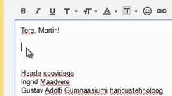 E-kirja kirjutamine