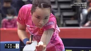 2020 All Japan Table Tennis Championships | Women's Single | ITO Mima Vs. HAYATA Hina