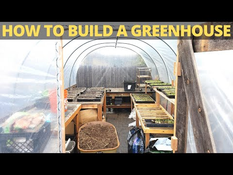 How to Build a Greenhouse: Bootstrap Farmer High Tunnel Kit