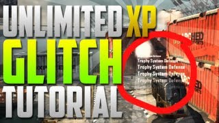Black Ops 2 UNLIMITED XP GLITCH Tutorial