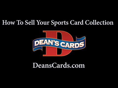 Deans Cards How To Sell Your Baseball Card Collection