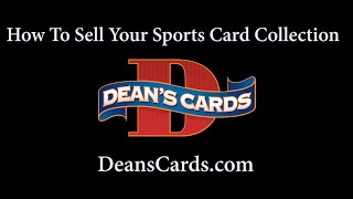 Dean s Cards - How to Sell Your Baseball Card Collection