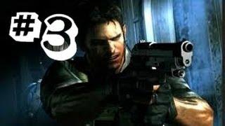 Resident Evil Revelations Gameplay Walkthrough Part 3 - Chris Redfield - Episode 2: Double Mystery