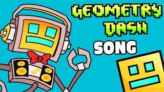"""GEOMETRY DASH SONG """"Don't Rage Quit"""" ► Fandroid The Musical Robot 📦"""