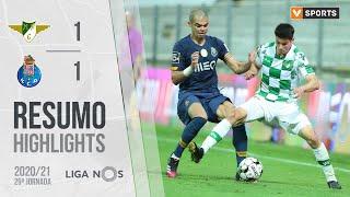 Liga (29ªJ): Resumo Moreirense FC 1-1 FC Porto