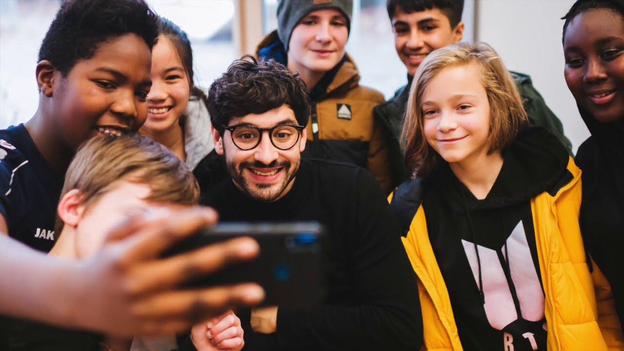 """Projektleiter Benjamin C. Christ war zu Gast bei """"Digitalisierung an Darmstadts Schulen gestalten"""""""