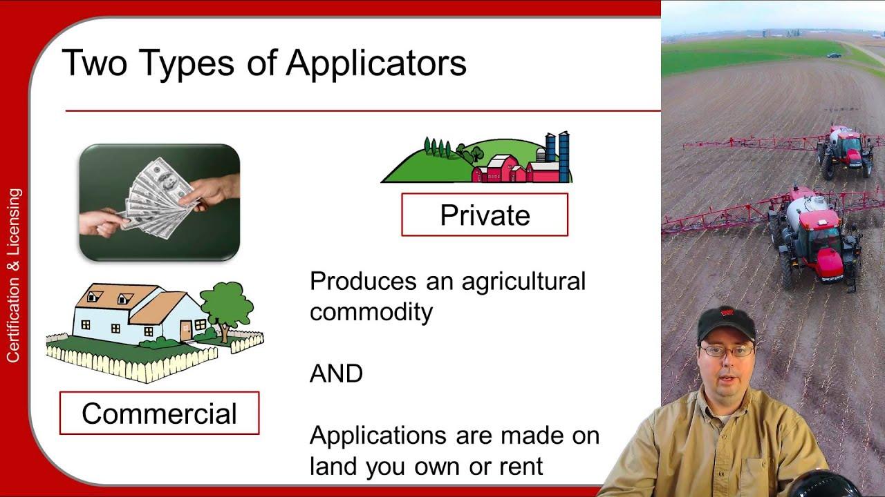 Pesticide Applicator Training Basics Part 15 Youtube