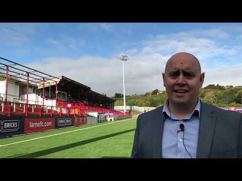 What's going on at Larne Football Club?