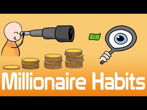 12 Habits of Millionaires - Money Making Habits and Mindset of the Wealthy