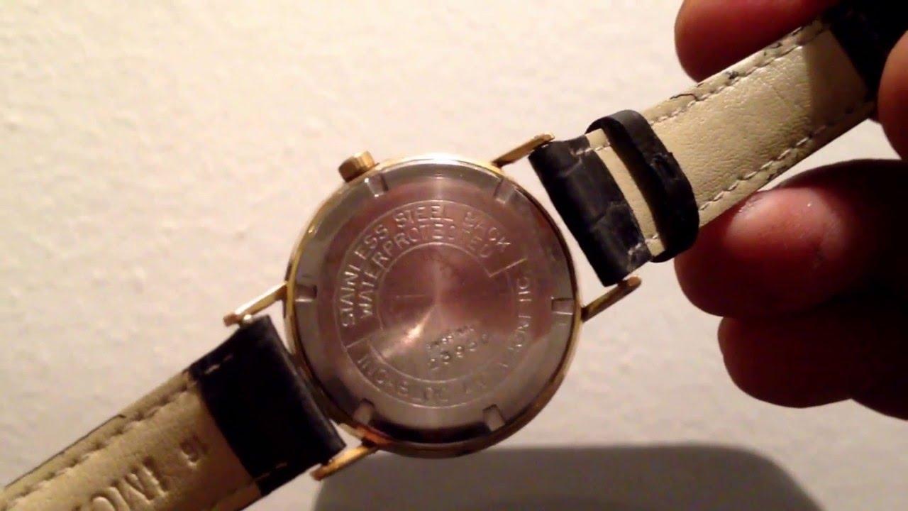 9a7ca1964fb Wega incabloc 17 Jewels vintage Watch
