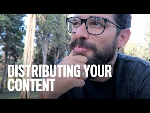 Distributing Your Content So Others Will Find It