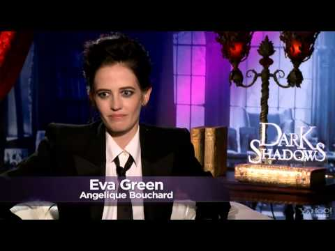 Eva Green Web: Eva Green Dark Shadows Yahoo! Movies Cast Interview