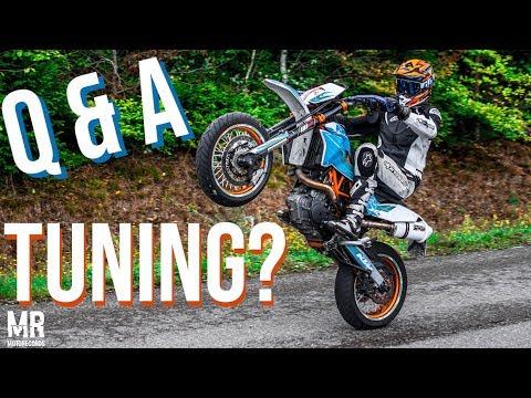 Neues Tuning🔥 KTM  SMC-R   Q&A🧐   Test