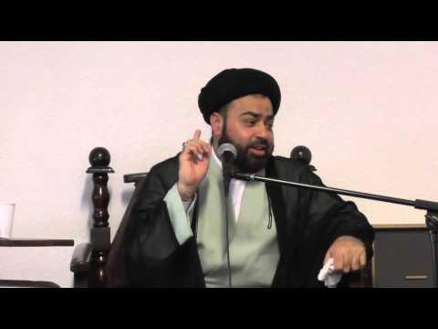 Allama Syed Abbas Abidi in Koln 25 Rajab San 2014 Part 2