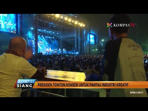 Presiden Jokowi Nonton Konser untuk Pantau Industri Kreatif Mp3