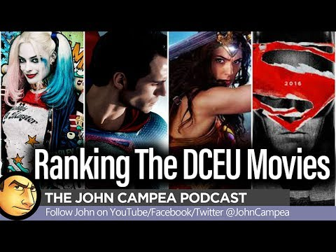 Ranking The DCEU Movies, Would Removing MARTHA Scene Bettered BVS - The John Campea Podcast