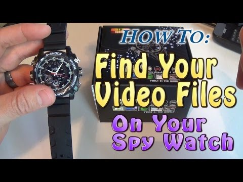 How To: Find Your Videos on Your Spy Watch Using a Windows PC