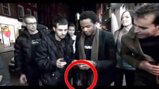 Динамо иллюзионист разоблачение - телефон в бутылке