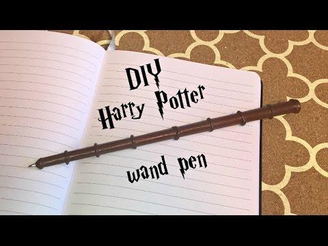Wand Len diy harry potter wand pen