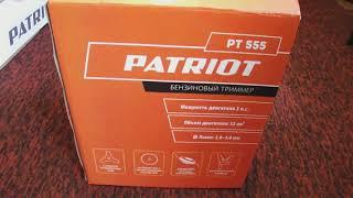 триммер   коса Patriot PT 555  Обзор  Часть 2  Замена насадок , намотка лески на катушку