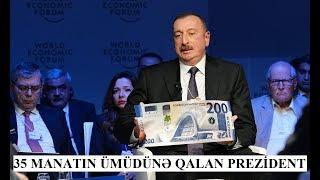 Otuz beş manatın ümidinə qalan prezident İlham Əliyev