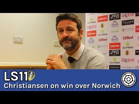 LS11 | Thomas Christiansen on 1-0 win over Norwich City