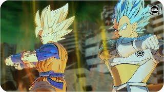FUSION Goku SSJ Rage and Vegeta SSB - SUPER DRAGON BALL HEROES - Gogeta EX Rage