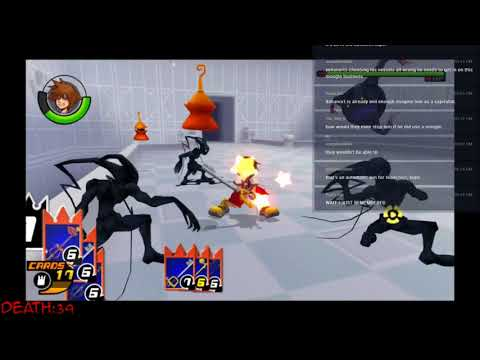 Let's Play Kingdom Hearts Re: Chain of Memories HD - 11 - Re: CoM - AXEL'S LAST STAND!