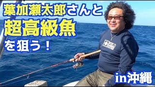 葉加瀬太郎さんと沖縄の海で一番高い高級魚を釣る!!