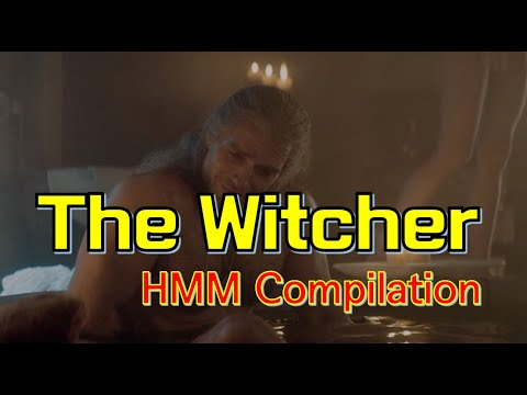 Netflix The Witcher Hmm Compilation Geralt Of Rivia Says Hmm In The Witcher