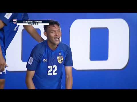Supachai Jaided 23' vs Singapore (AFF Suzuki Cup 2018 : Group Stage)