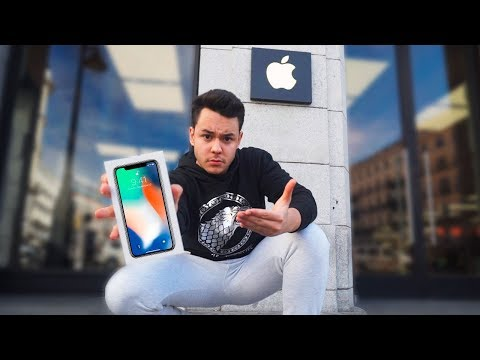 ME COMPRO EL IPHONE X Y NO CREERÁS LO QUE PASÓ