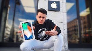 Video de ME COMPRO EL IPHONE X Y NO CREERÁS LO QUE PASÓ