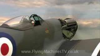 spitfire mark 18 engine run