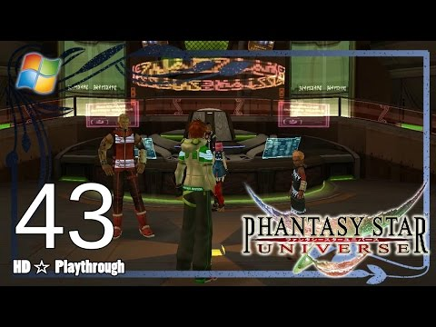Phantasy Star Universe 【PC】 - Story Playthrough Pt.43 「Chapter 9: Hot SOS」