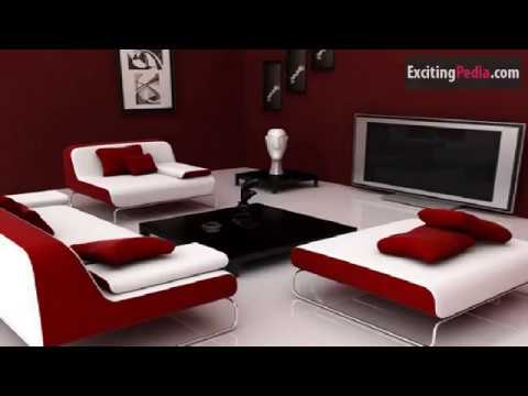 15 Maroon Colored Living Room Walls Decor Ideas - YouTube