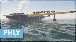 LARGEST PLANE EVER Devised | 500 Ton Flying Boat (War Thunder)